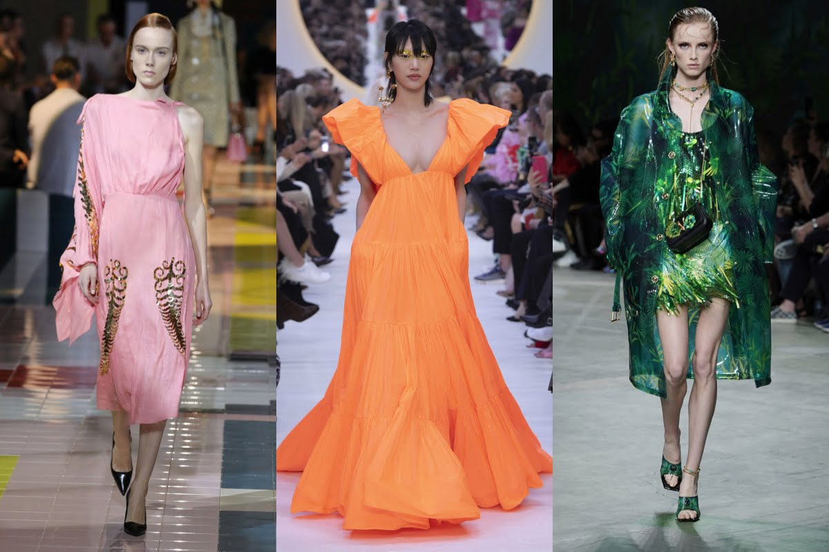Rosa, arancione e verde, tre colori moda Primavera-Estate 2020 da tenere d'occhio